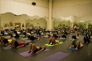 UMaine Yoga Class