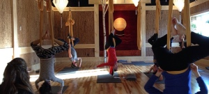 Finally – EVENING Aerial Yoga Classes